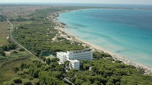 The playing venue is at the Ecoresort Le Sirenè