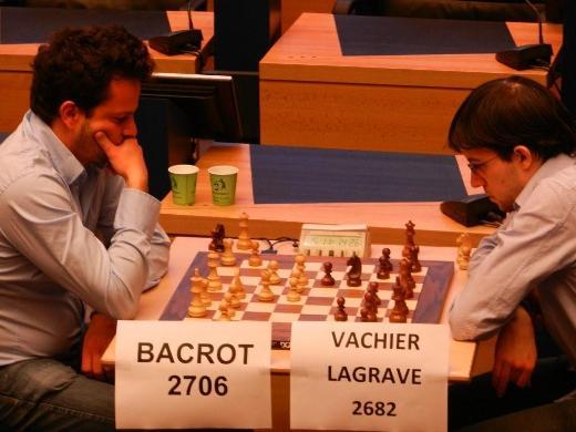 Etienne Bacrot - Maxime Vachier-Lagrave