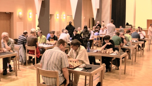 Heart of Finland Open - playing hall