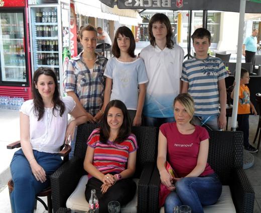 Kids from Jagodina - Matija Ivic made a draw with Ljilja
