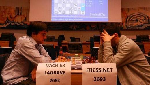 Maxime Vachier-Lagrave - Laurent Fressinet