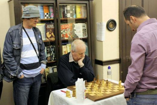Topalov simul in Edinburgh 2