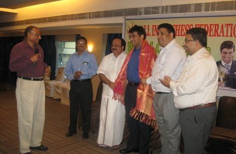 AICF Felicitation to World Champion Viswanathan Anand