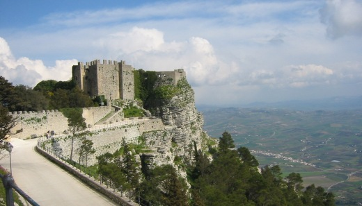 Castle of Venus in Erice