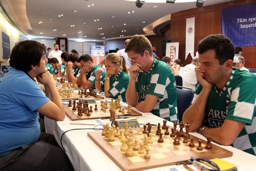 Grandmasters Malakhov and Kobalia