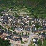 The city of Benasque