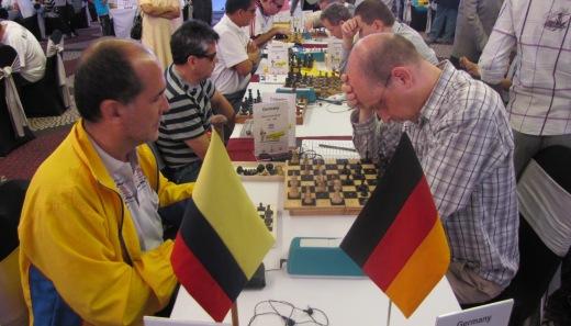 IBCA Columbia playing Germany