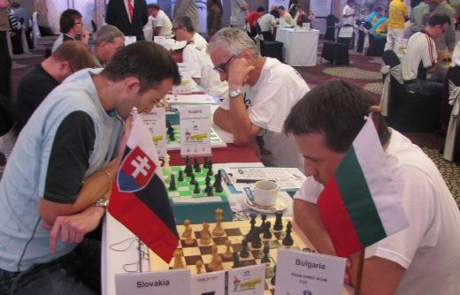 IBCA Slovakia playing Bulgaria