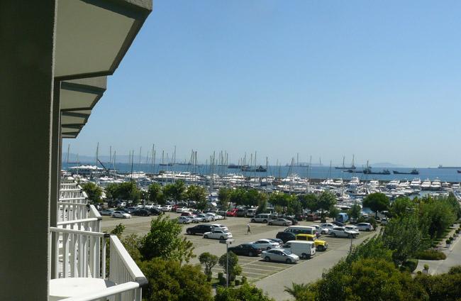 Marina near Olympiad hotels. Nice!