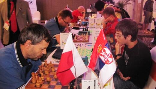 Poland playing Serbia
