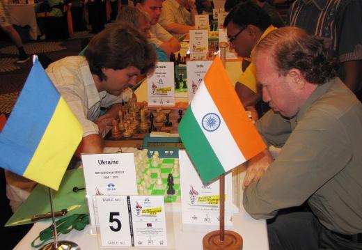 Ukraine - India B