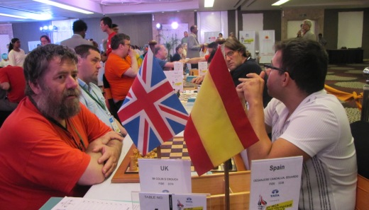 United Kingdom playing Spain