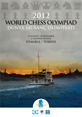 Chess Olympiad 2012 official poster
