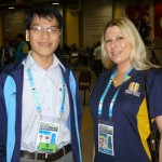 Le Quang Liem and Susan Polgar
