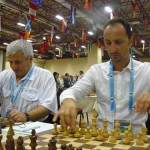Veselin Topalov and Kiril Georgiev