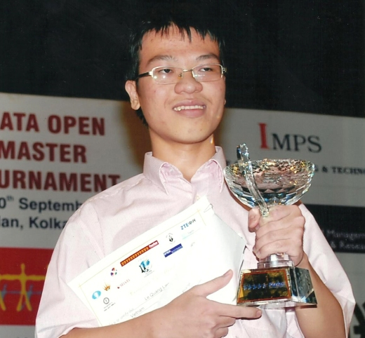 4th Kolkata Open Champion GM Li Quang Liem