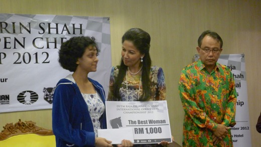 DYTM Raja Nazrin Shah International Open Chess Championship 2012 1