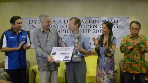 DYTM Raja Nazrin Shah International Open Chess Championship 2012