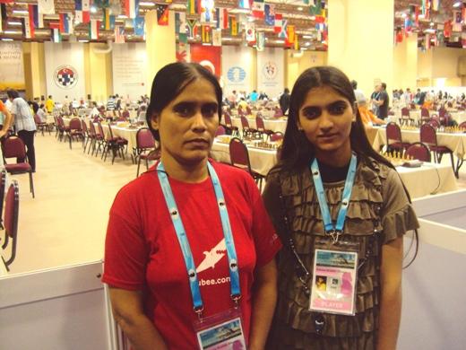 Ghazala Shabbir and Fatima Shabbir