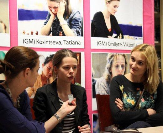 Tatiana Kosintseva and Viktorija Cmilyte