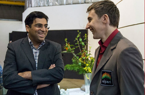 Anand and Karjakin