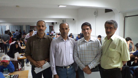 Arbiters from Right - Behbahani, IA Rezaei, Manoochehri and Khallaghi
