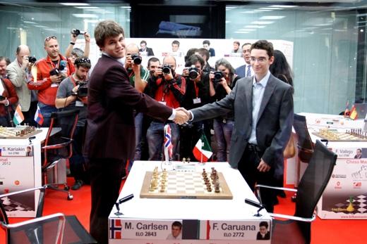 Bilbao Final Masters 2012 Carlsen Caruana