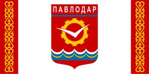 Flag Pavlodar