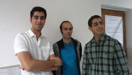 GM Ghaem Maghami visited the first round