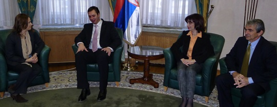 Polgar Vucic meeting