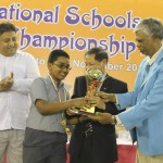 Under-11 Open Winner Siva Mahadevan