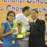 Under-13 Girls Winner Shiny Das