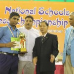 Under-15 Open Winner Barath L
