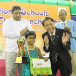 Under-5 Girls Winner Yashavishree N
