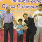 Under-5 Open Winner Garv Rai