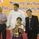 Under-7 Girls Winner Chinnam Vyshnavi