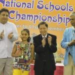 Under-9 Girls Winner Salonika Saina