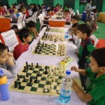Young participants in action