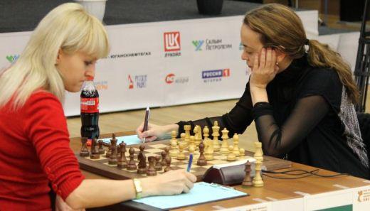 Anna Ushenina and Antoaneta Stefanova