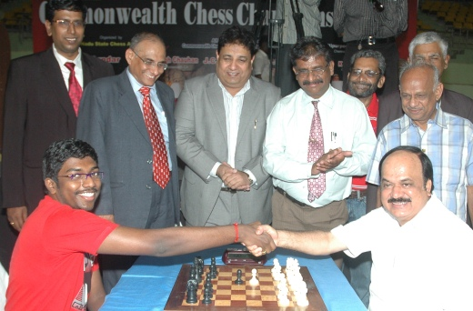 Apollo Engineering College Commonwealth Chess Championships 2012