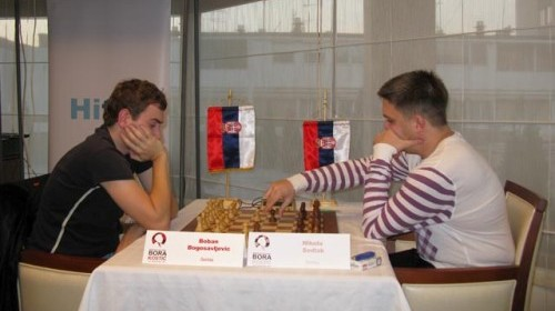 Boban Bogosavljevic and Nikola Sedlak in the 2010 Bora Kostic Memorial