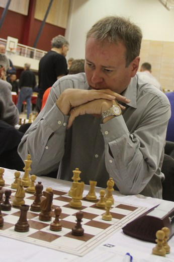 GM Johann Hjartarson of Bolungarvik Chess Club