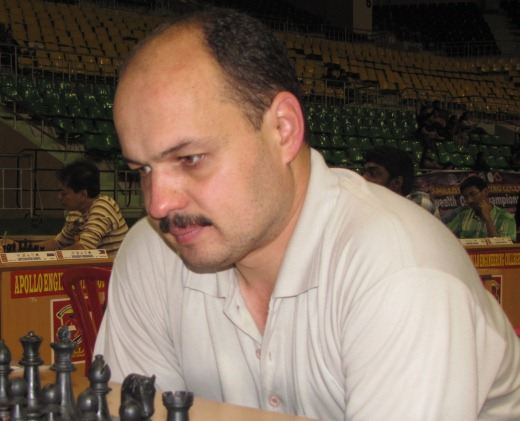 Grandmaster Marat Dzhumaev (Uzbekistan)
