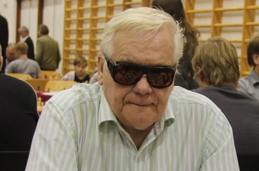 Halldor Gardarsson of Reykjavik Chess Club