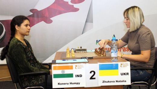 Humpy Koneru - Natalia Zhukova
