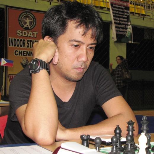 International Master Oliver Dimakiling (Philippines)