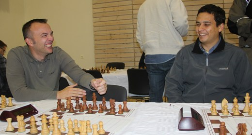 Luca Barillaro from Italy and Omar Salama did play for Hellir Chess Club