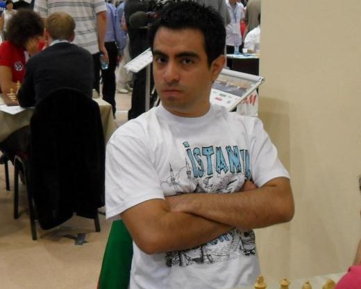 Manuel Leon Hoyos at the Chess Olympiad in Istanbul