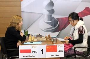Monika Socko - Hou Yifan