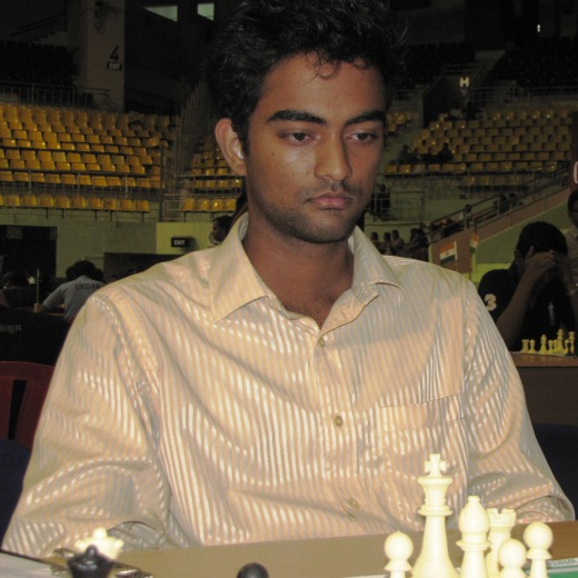 R Arun Karthik, who conquered GM Norm holder P Shyam Nikil